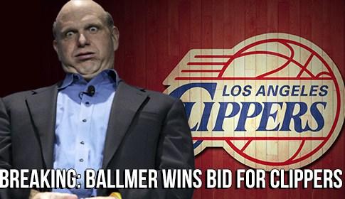 Steve Ballmer Clippers