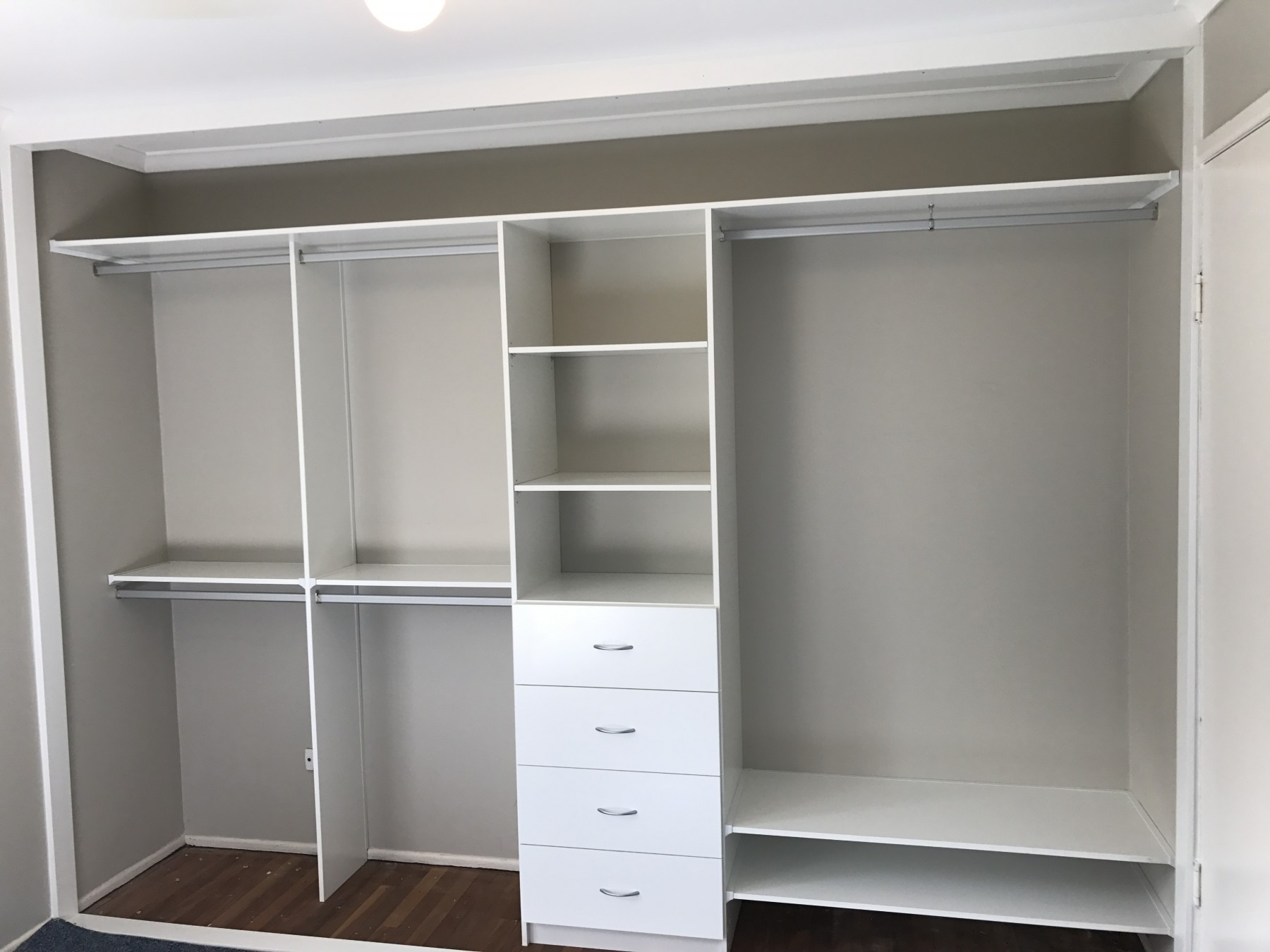 Build In Wardrobe Wardrobe Fit Out Just Wardrobes And Storage