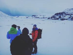 The crew slheimajkull solheimajokullglacier iceland hiking hike travel traveliceland europehellip