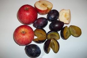 Obst der Jahreszeit