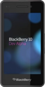 Blackberry 10 Dev Alpha Devices