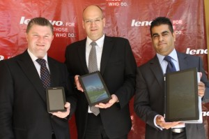 Oliver-Ebel-Executive-Director-General-Manager-Lenovo-Middle-East-Africa-Graham-Braum-Lenovo-Africa-General-Manager