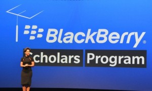 BLACKBERRY SCHOLARS PROGRAMME ALICIA KEYS JUUCHINI