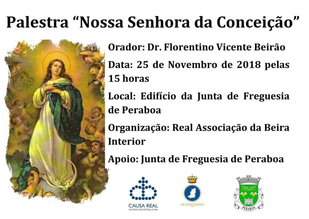 Palestra Nossa Senhora da Conceição Real Associação da Beira Interior