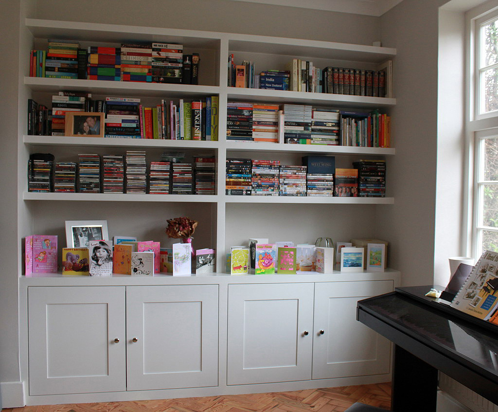 Book Shelfs Fitted Wardrobes And Bookcases In London, Shelving And