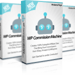 WP Commission Machine – Unlimited Sites License Review By Ankur Shukla – Finally Revealed – How You Can Earn Passive Commissions by Creating 100% AUTOPILOT Commission Stores for Ebay, Amazon & AliExpress…