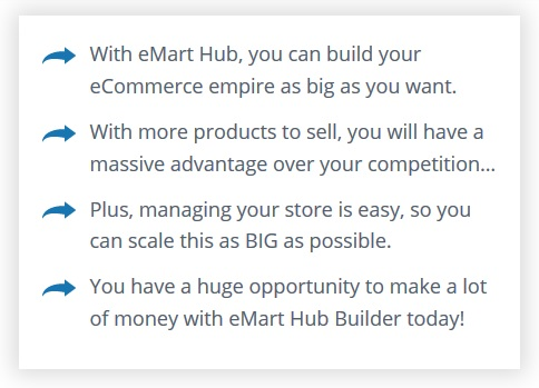 EMart Hub Builder Review