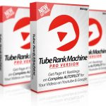 Tube Rank Machine PRO By Ankur Shukla Review – OTO 1 of Tube Rank Machine. Revealed The SECRET to Getting 10 TIMES More Traffic is More Rankings, Get 9 MORE Software Apps + 5000 New Backlinks + Rank Any Website You Want on Complete AUTOPILOT…