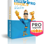 Live Event Blaster 2 PRO By Tom Yevsikov Review – Upgrade #1 of Live Event Blaster 2. Packed With Features Designed To Scale Everything and Make You More Money