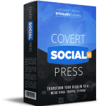 Covert Social Press 2.0 By IM Wealth Builders Review – New WordPress Theme Powers Your Own Profitable Social Network Empire With Real Members Building Your Sites For You Without You Ever Having To Write A Single Word! And It Sucks Free Traffic From Facebook, Twitter & Pinterest On Complete Autopilot