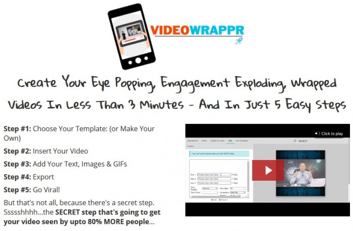 VideoWrappr By Simon Warner and Paul Lynch Review