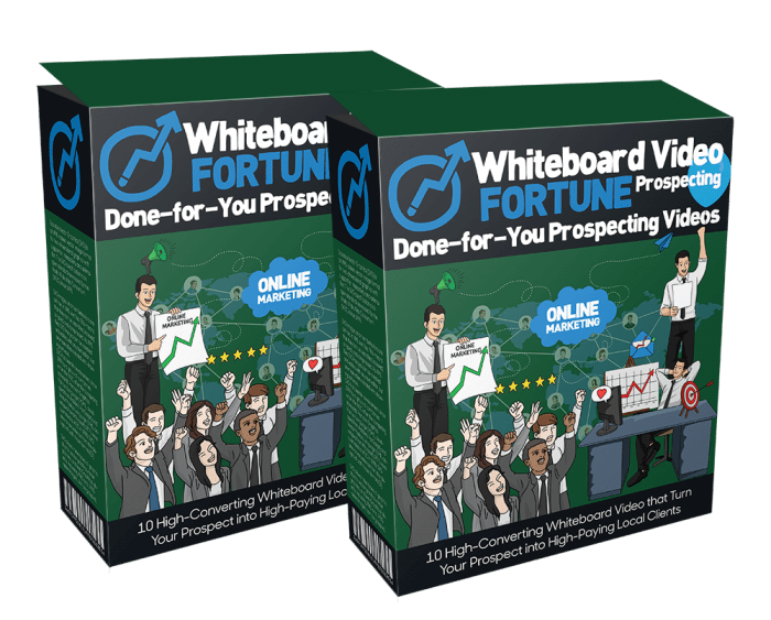 Whiteboard Video Fortune Prospecting Reloaded By Dawn Vu Review