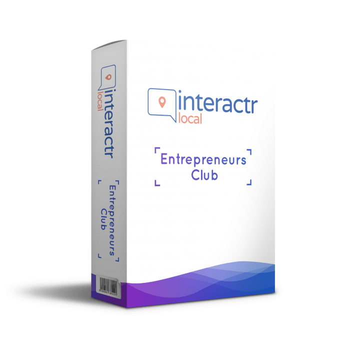 Interactr Local Entrepreneurs Club By Jamie Ohler DropMock Review