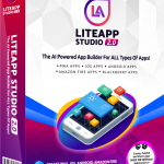 LiteApp Studio 2.0 By Dr Ope Banwo Review – NEW AIl-In-One Mobile App Builder Helps You Create  ALL TYPES Of Amazing Native Mobile Apps (iOS + Android + Amazon + Blackberry) AND Viral Progressive Web Apps (PWAs) from ANY Website URL in minutes, With Zero Technical Skills!