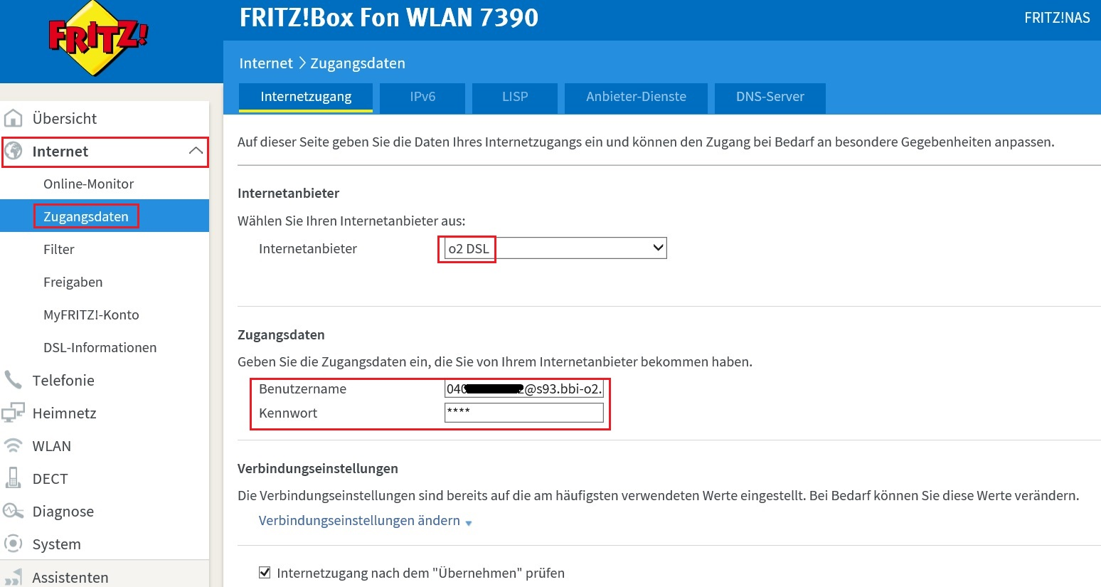 Einrichten O2 Homebox 6641 O2 Dsl Und Fritzbox 7390 Joergs It Tech Blog