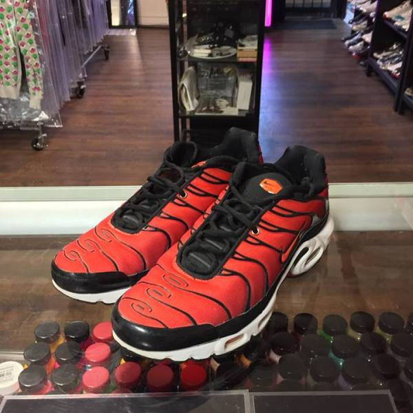 0e0d4aec6af0 2017 Nike Air Max Plus Team Red Orange