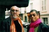 Stanley Moss and Tadashi Shoji