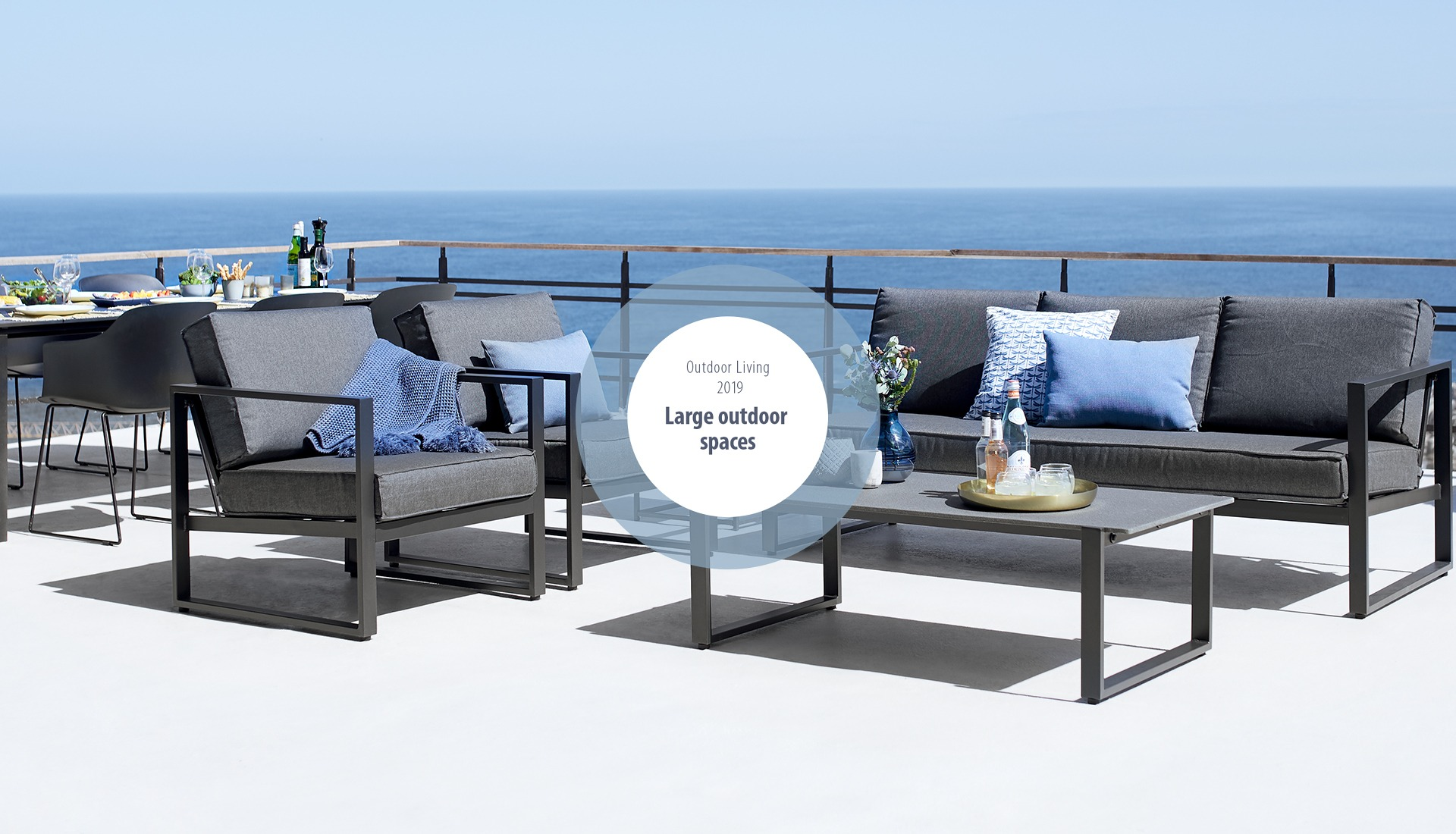 Large Outdoor Spaces Jysk - Jysk Loungers