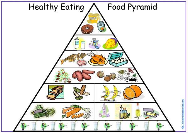 blank diet chart