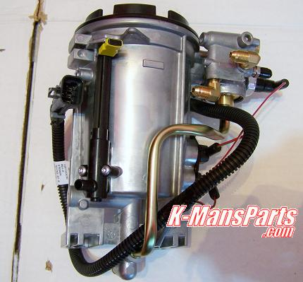 Ford 1996 1997 F-Series water separator fuel filter assembly