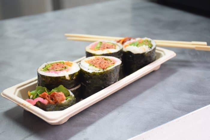 KIMPOP FOOD TRUCK  :  1er food truck coréen à Paris