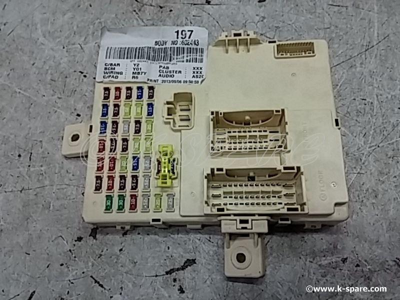 Hyundai YF Sonata - USED JUNCTION BOX ASSY-I/PNL 91950-3S070