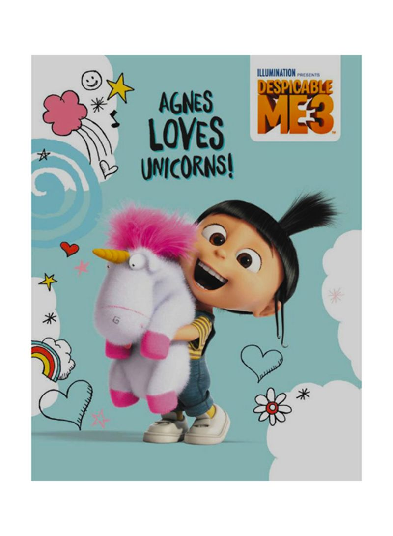 Universal Baby Supplies Egypt Shop Despicable Me 3 Agnes Loves Unicorns Hardcover