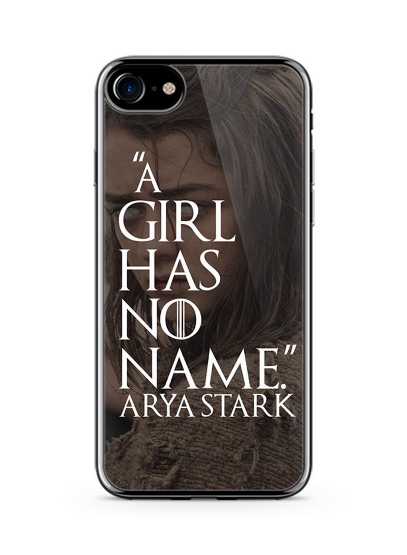 No Name Online Shop Shop Loud Universe Plastic Ultra Slim Case Cover For Apple Iphone 8 Game Of Thrones Arya Stark Girl Has No Name Tv Show Online In Dubai Abu Dhabi And