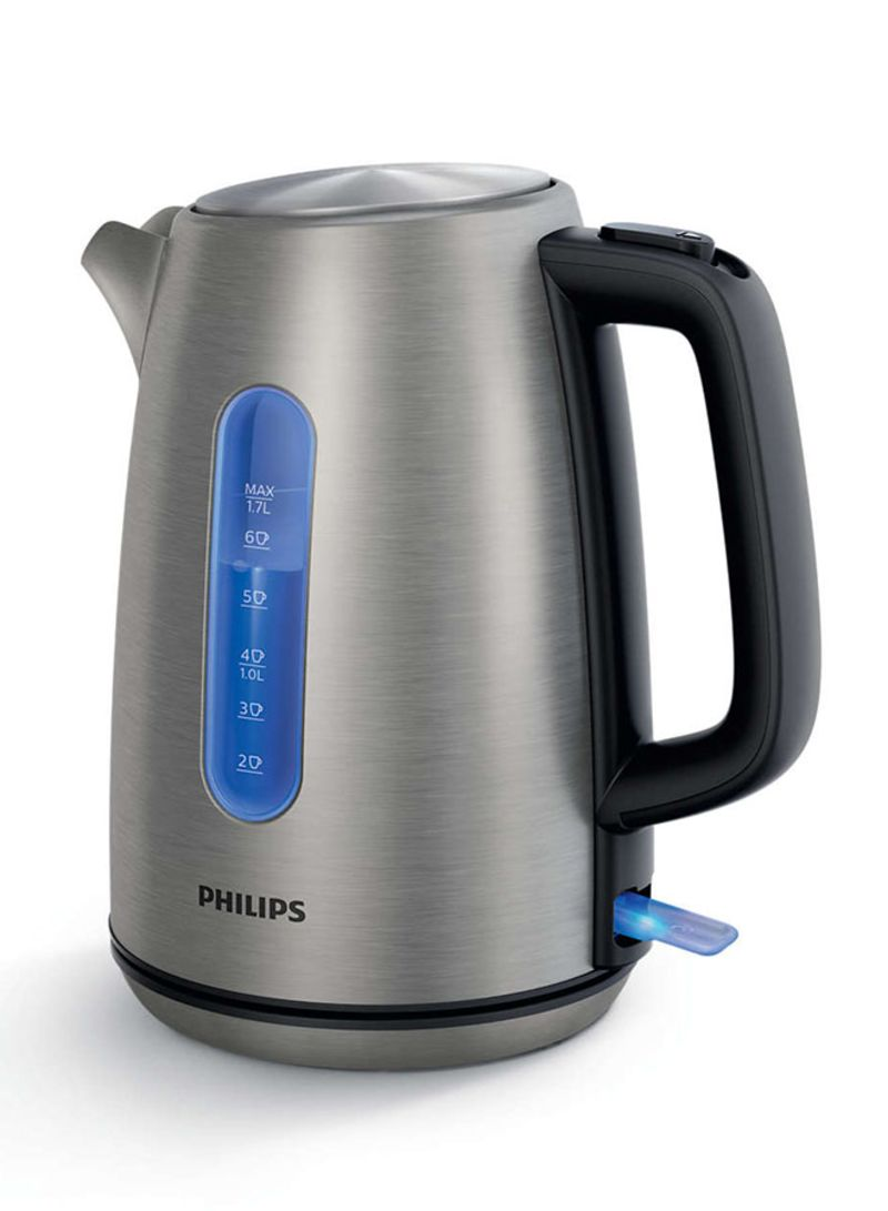 Philipps Online Shop Shop Philips Electric Kettle 2200w 1 7l Hd9357 12 Grey Black Online In Dubai Abu Dhabi And All Uae