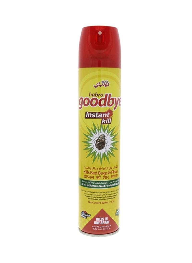 Spray To Kill Bed Bugs Shop Goodbye Roaches Spray For Bed Bugs Multicolour Online In Dubai Abu Dhabi And All Uae
