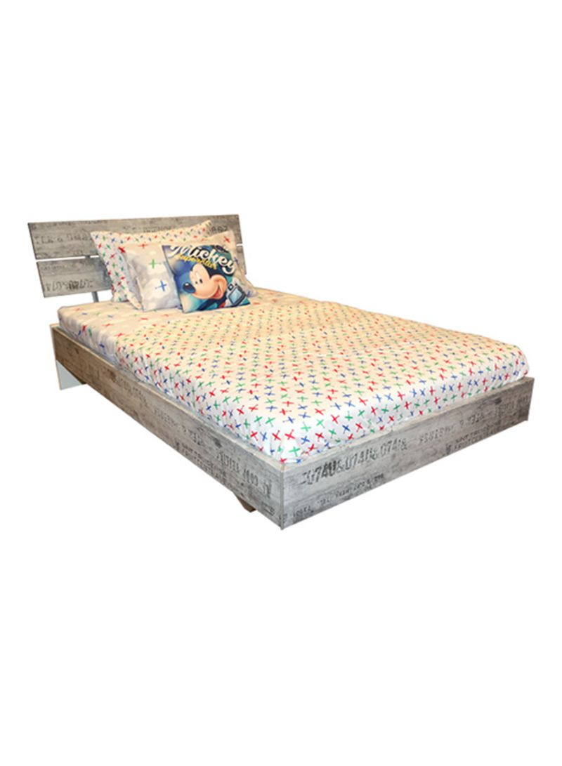 120x200 Bed Shop Homes R Us Sumatra Bed Alpine White 120x200 Cm Online In Dubai Abu Dhabi And All Uae