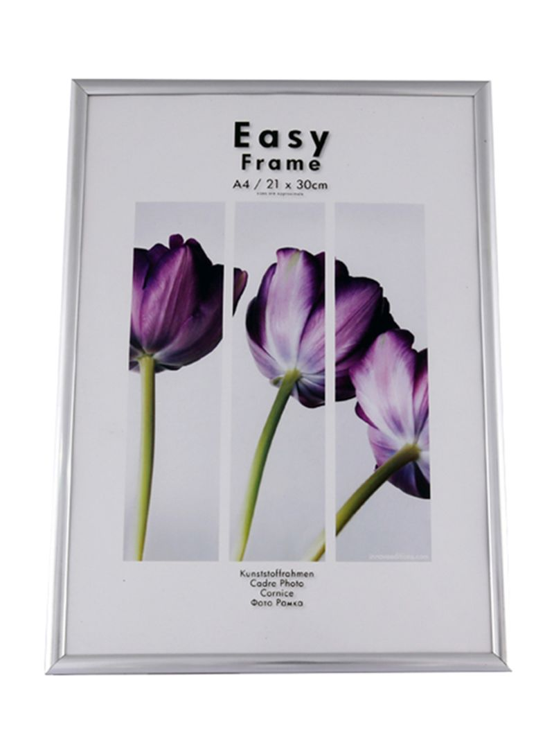 Cadre 21x29 7 Shop Homes R Us Plastic Photo Frame Silver 21x29 7 Centimeter