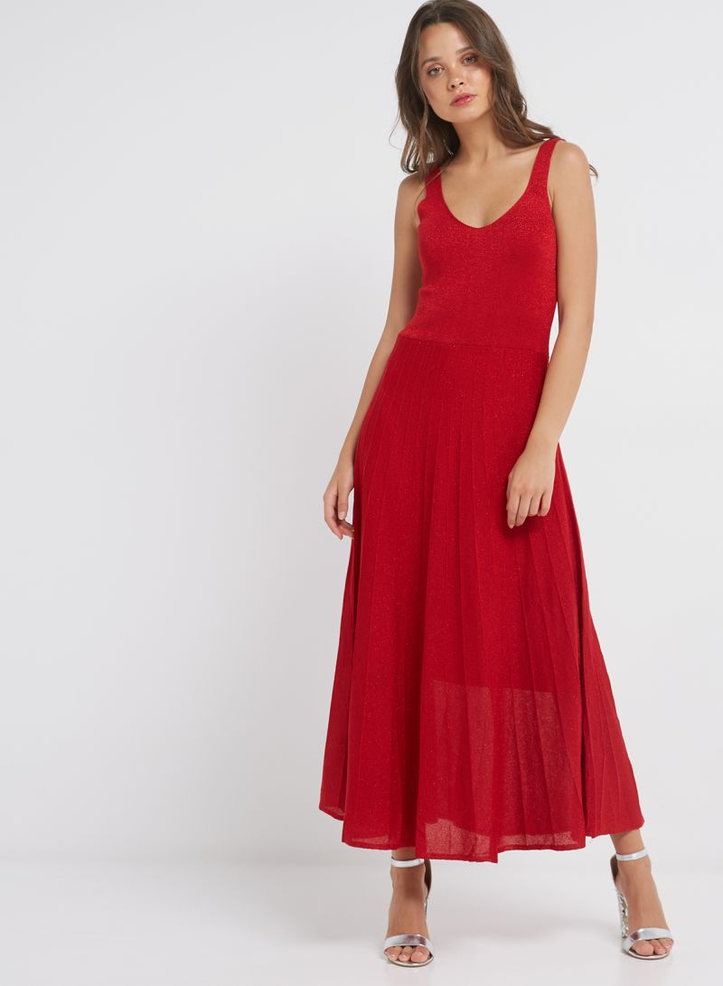 Sfera Online Shop Deutschland Shop Sfera Sleeveless Party Dress Red Online In Dubai Abu Dhabi