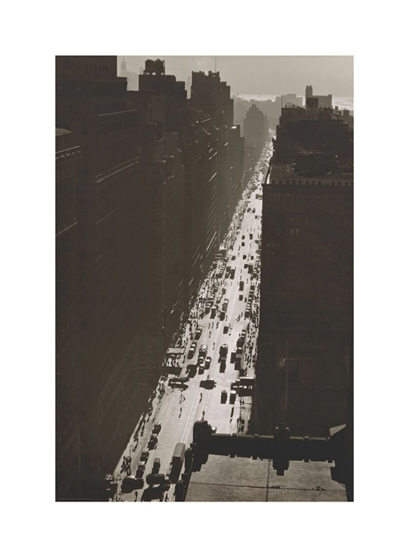 Ikea Poster Shop Ikea Bild 7th Avenue Poster Brown Grey 61x91 Centimeter