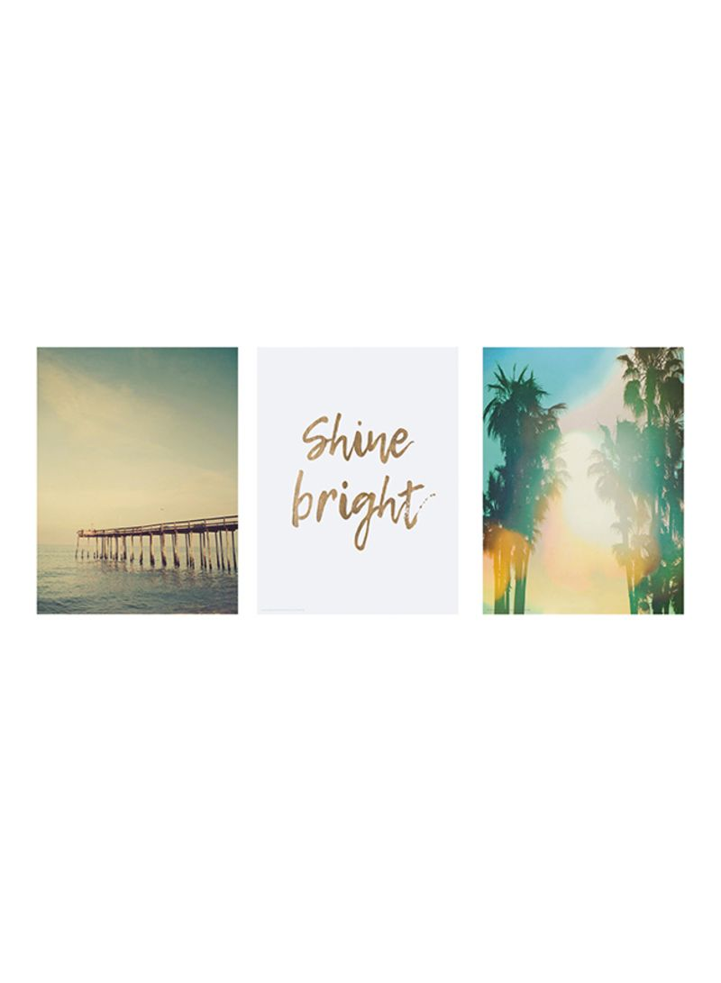 Ikea Poster Shop Ikea 3 Piece Trilling Shine Bright Poster Multicolour 30x40