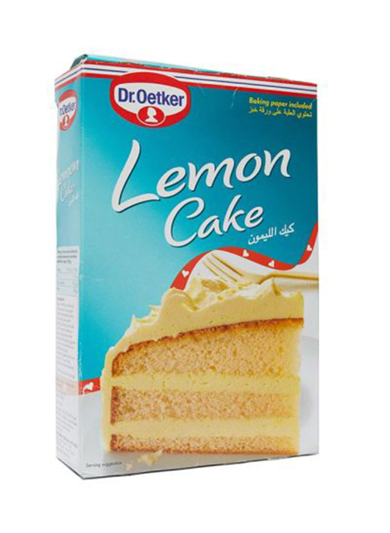 G Küchen Shop Dr Oetker Lemon Cake 430 G Online In Riyadh Jeddah And All Ksa