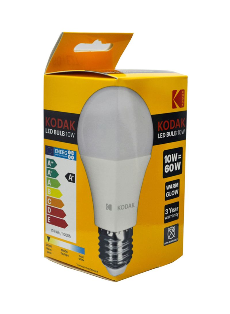 Led Bulbs Globe A60 E27 10w Warm Glow Yellow 10watts Price In Uae Noon Uae Kanbkam