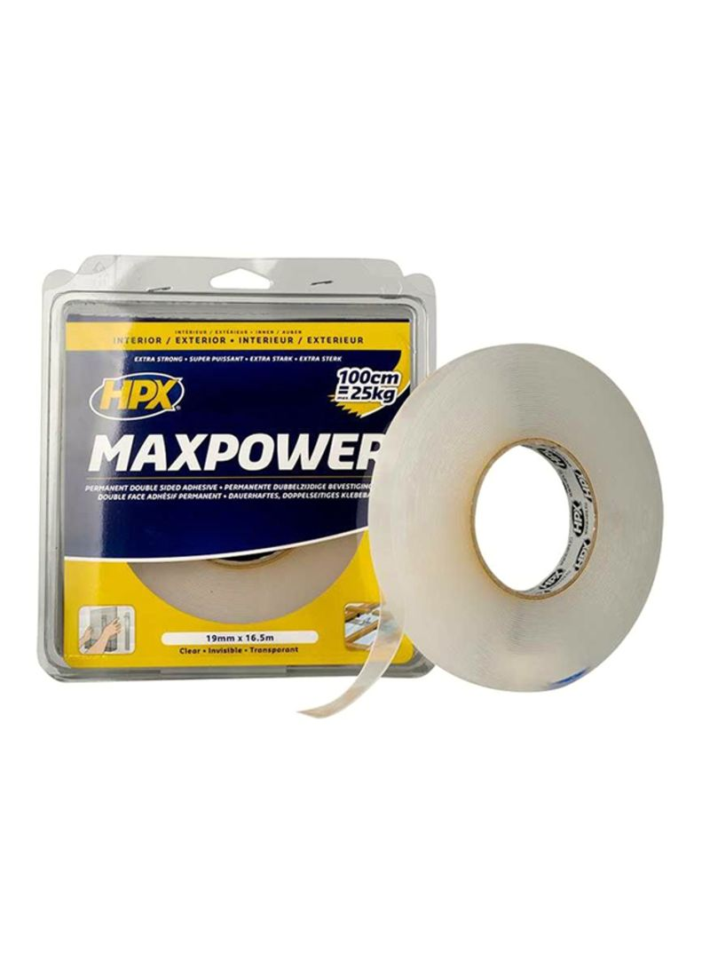 Online Interieur Shop Shop Hpx Max Power Double Sided Tape Clear 19x5 Millimeter Online