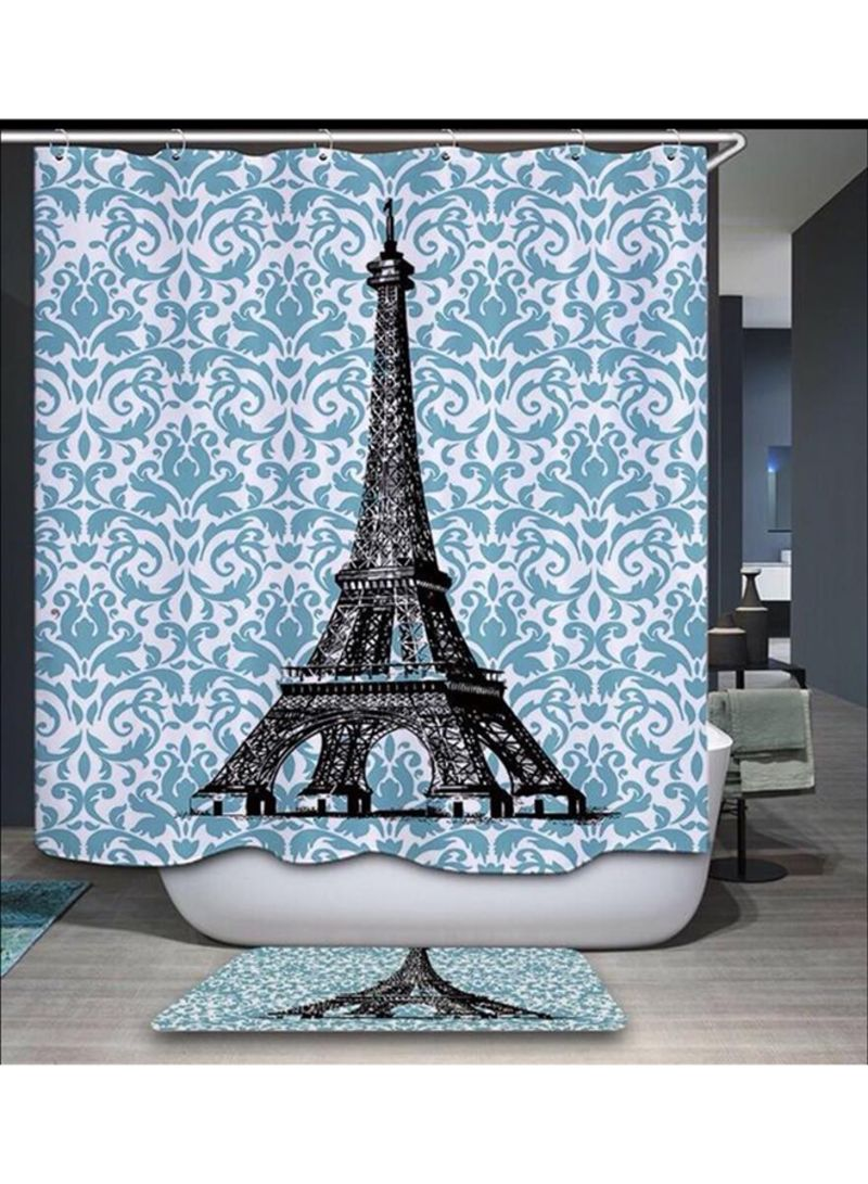 Shower Curtains For Less Shop Deals For Less Paris Design Shower Curtain And Place Mat