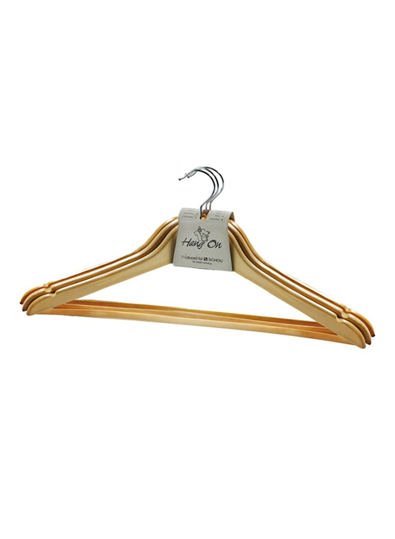 Jysk Tent Shop Jysk 3 Piece Heino Hanger Set Beige 22x44 Centimeter Online In Dubai Abu Dhabi And All Uae