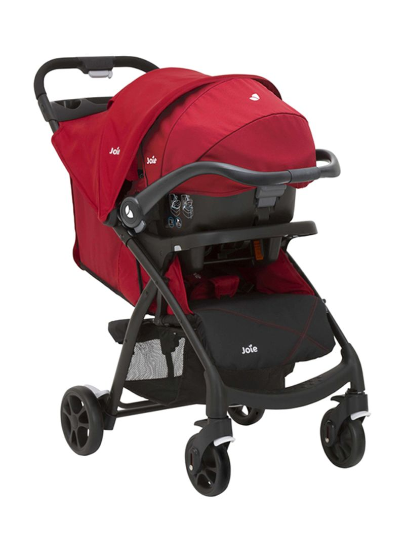 Travel System Joie Chrome Joie S1035gcchr000 Muze Travel System Cherry Price In