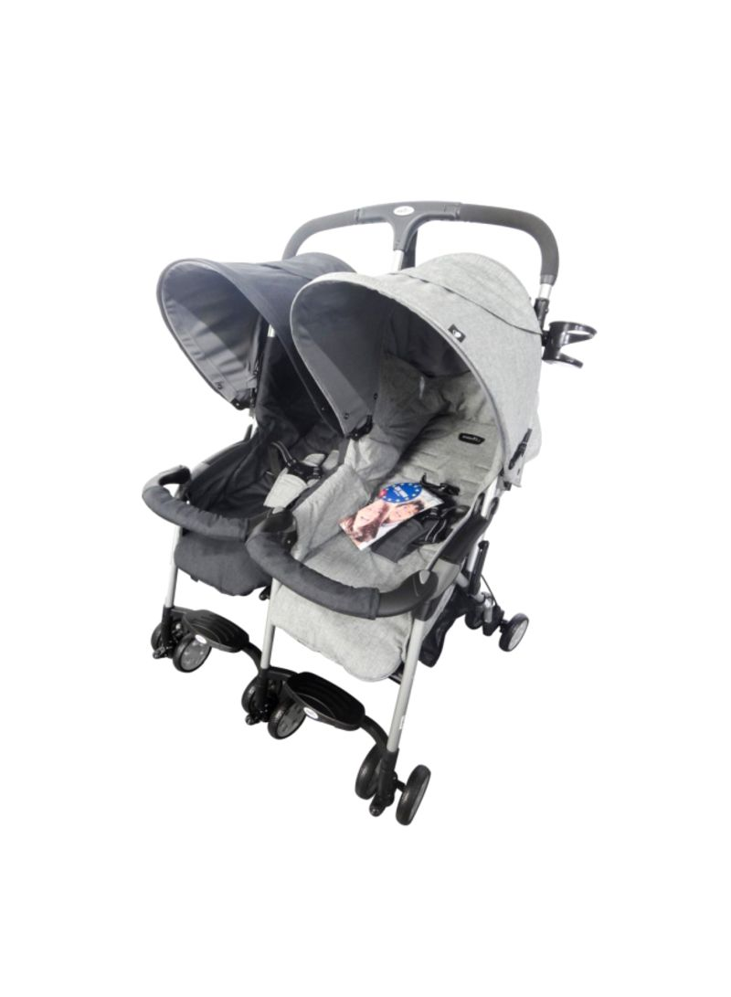 Twin Stroller In Dubai Shop Evenflo Akin Twin Double Stroller 3 36 Months Online In Dubai Abu Dhabi And All Uae