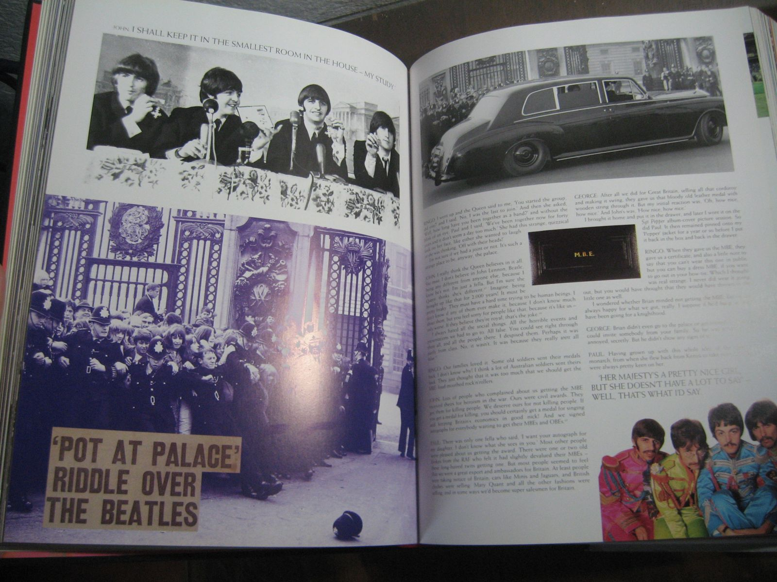 Libros Sobre Los Beatles The Beatles Anthology Libro The Beatles Fans Taringa