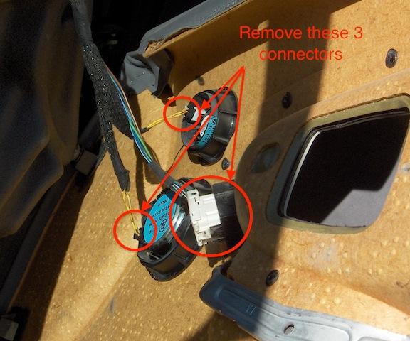 Replacing the electric door actuator on a BMW E36 Lee Devlin\u0027s Website