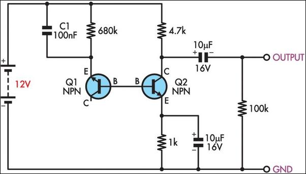 simple schematic diagrams circuits