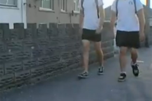 High School Boys Fight Dress Code By Wearing Skirts