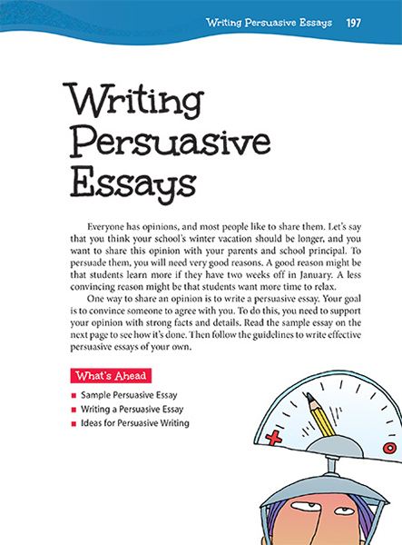 27 Writing Persuasive Essays Thoughtful Learning K-12