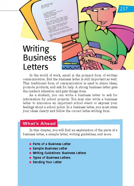 33 Writing Business Letters Thoughtful Learning K-12