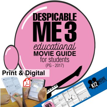 Despicable Me 3 Movie Guide Cover