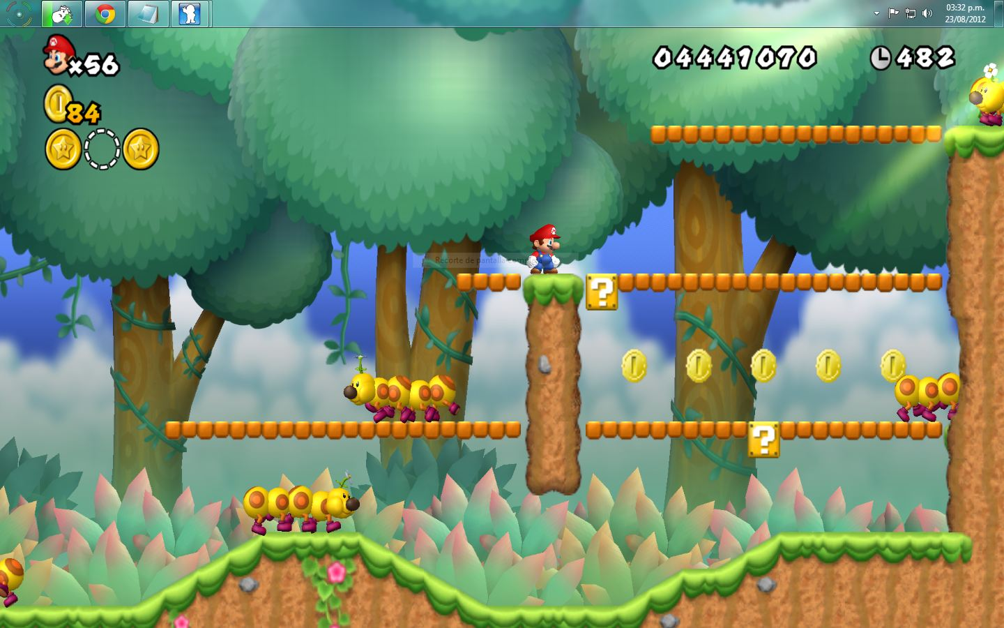 Bross'net New Super Mario Bross De Wii Jugalo En Pc Capturas